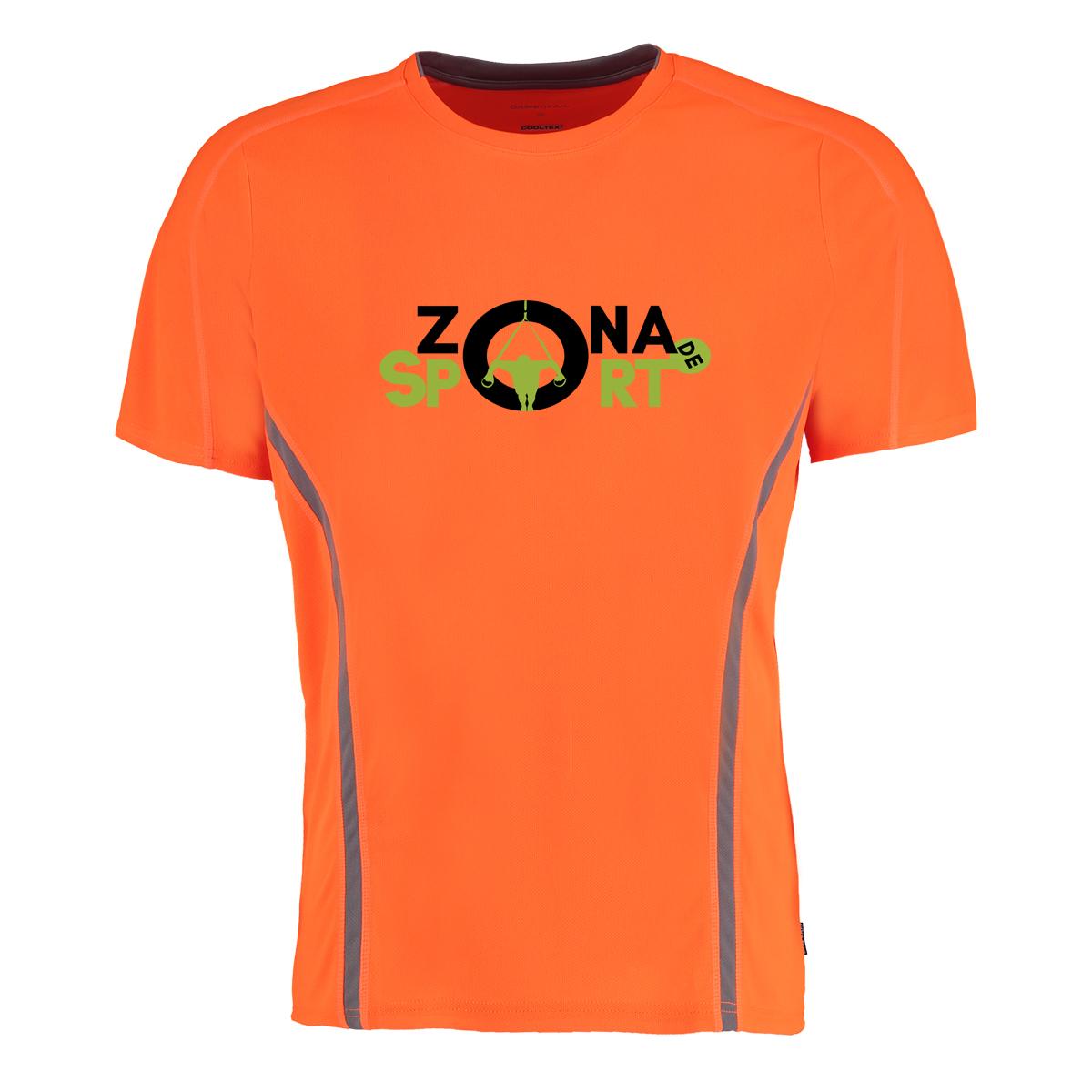tricou action portocaliu