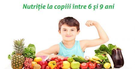 nutriţia între 6-9 ani