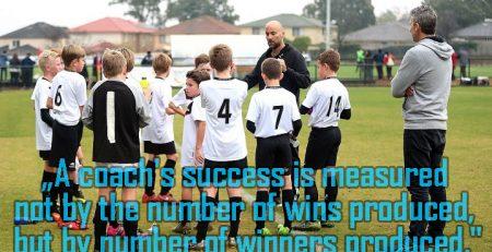 succesul unui antrenor